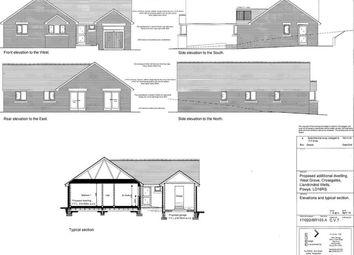 Thumbnail 3 bed bungalow for sale in Crossgates, Llandrindod Wells