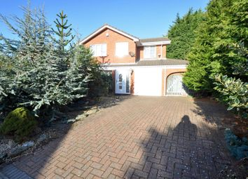 Thumbnail 4 bed detached house for sale in Lillie Close, Prenton