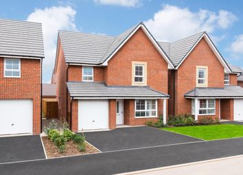 "Thumbnail 4 bedroom detached house for sale in ""Guisboro 1"" at Weddington Road, Nuneaton"