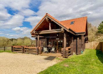 Thumbnail 3 bed lodge for sale in Common Road, Pentney, King's Lynn