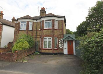 Thumbnail 2 bed semi-detached house for sale in Claremont Road, Staines Upon Thames