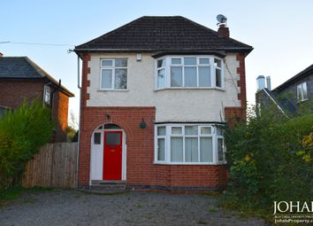 Thumbnail 3 bed detached house to rent in Hinckley Road, Leicester, Leicestershire