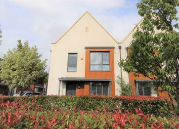 Thumbnail 4 bed semi-detached house for sale in Bartley Wilson Way, Cardiff
