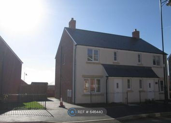 Thumbnail 3 bed semi-detached house to rent in Ffordd Y Celyn, Coity, Bridgend