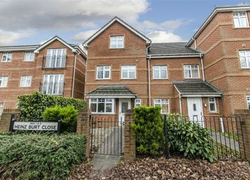 Thumbnail 4 bed town house for sale in Heinz Burt Close, Eastleigh, Hampshire