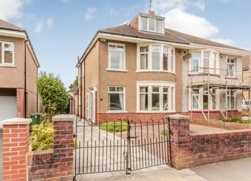 Thumbnail 4 bed semi-detached house for sale in King George V Drive West, Cardiff, Cardiff