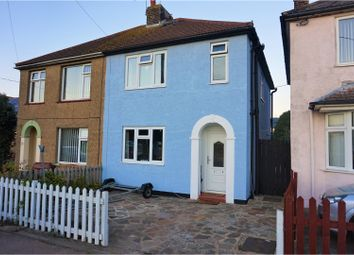 Thumbnail 3 bed semi-detached house for sale in Lower Park Road, Brightlingsea