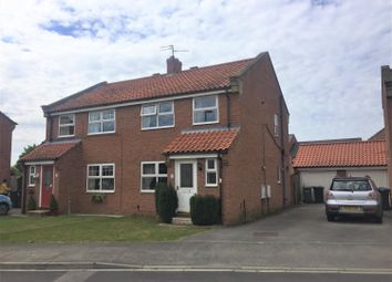 3 bed semi-detached house for sale in Chase Garth, Easingwold, York YO61