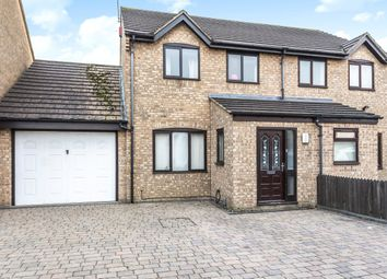 Thumbnail 3 bedroom semi-detached house for sale in Burgess Close, Stratton, Swindon, Wiltshire