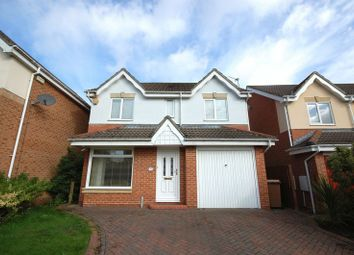 Thumbnail 4 bed detached house for sale in Woodlea, Forest Hall, Newcastle Upon Tyne