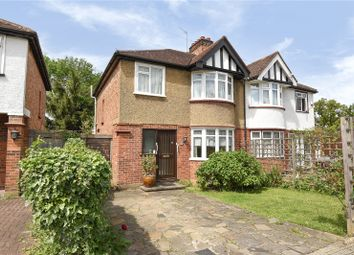 Thumbnail 3 bed semi-detached house for sale in Belsize Road, Harrow Weald, Middlesex