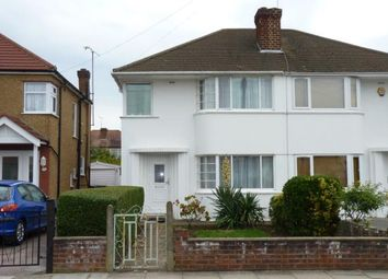 Thumbnail 3 bed semi-detached house for sale in Calder Avenue, Perivale, Greenford, Middlesex