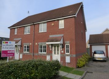 Thumbnail 3 bedroom property to rent in Royce Close, Yaxley, Peterborough