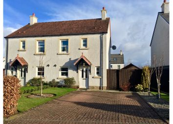 Thumbnail 3 bedroom semi-detached house for sale in Dalton Park, Ayr