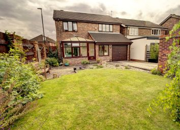 Thumbnail 4 bed detached house for sale in Meadow Court, York
