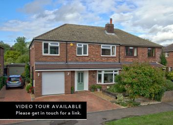 Thumbnail 4 bed semi-detached house for sale in Priams Way, Stapleford, Cambridge