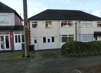 Thumbnail 4 bed semi-detached house for sale in Cole Valley Road, Hall Green, Birmingham