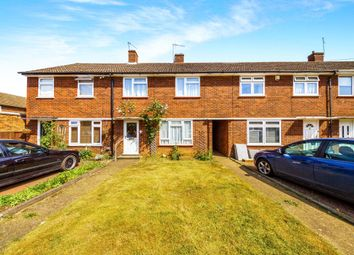 Thumbnail 3 bedroom end terrace house for sale in Norwood Close, Hertford