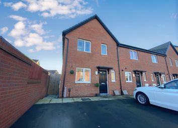 Thumbnail 3 bedroom end terrace house for sale in Cold Mill Road, Newport, Llanwern