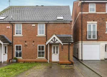 Thumbnail 3 bed semi-detached house to rent in Christ Church Close, Stamford
