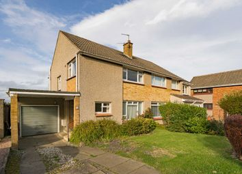 Thumbnail 3 bed semi-detached house for sale in 15 Thomson Drive, Currie