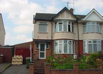 Thumbnail 4 bed terraced house to rent in Park Street, Luton
