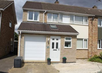 Thumbnail 4 bed semi-detached house for sale in Eaton Road, Duston, Northamptonshire