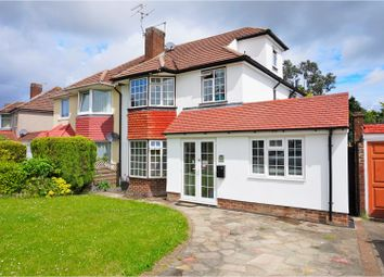 Thumbnail 4 bedroom semi-detached house for sale in Eldred Drive, Orpington