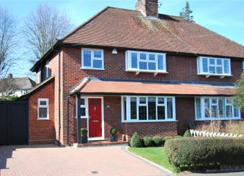 Thumbnail 3 bed semi-detached house to rent in Carisbrooke Road, Harpenden, Hertfordshire