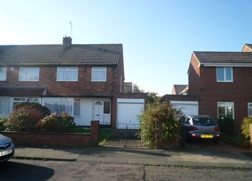Thumbnail 3 bed semi-detached house to rent in Alwinton Road, Shiremoor