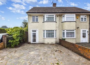 Thumbnail 3 bedroom semi-detached house for sale in Vicarage Road, Bexley