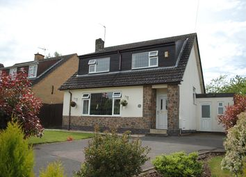 Thumbnail 4 bed detached house for sale in Perry Close, Woodhouse Eaves, Leicestershire