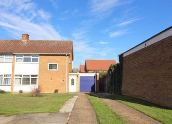 Thumbnail 3 bedroom semi-detached house for sale in Angel Road, Bramford, Ipswich