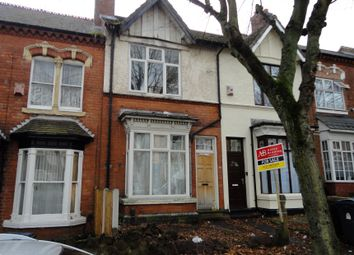 Thumbnail 3 bed terraced house for sale in Frances Road, Erdington, Birmingham, West Midlands