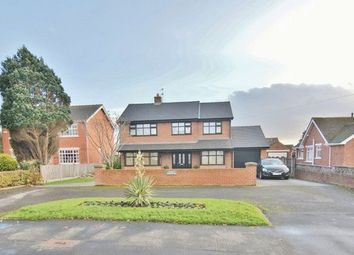Thumbnail 4 bed detached house for sale in Lytham Road, Freckleton, Preston