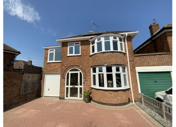 Thumbnail 4 bed link-detached house for sale in Fernhurst Road, Leicester