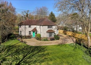Thumbnail 5 bed detached house for sale in Main Road, Winchester, Hampshire