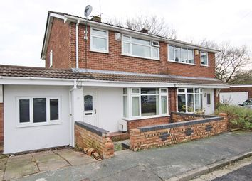 Thumbnail 3 bed semi-detached house for sale in Windscale Road, Fearnhead, Warrington