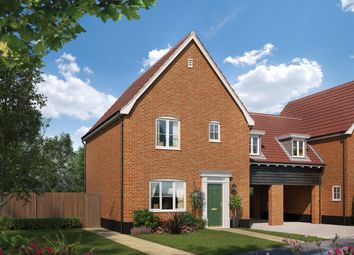 Thumbnail 3 bedroom link-detached house for sale in The Neate At Saxon Meadows, Capel St Mary, Suffolk