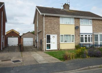 Thumbnail 3 bed semi-detached house for sale in Lurgan Close, Lincoln, Lincolnshire