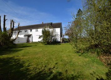 Thumbnail 4 bed semi-detached house for sale in Treneglos, Launceston