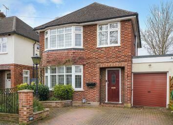 Thumbnail 3 bed detached house for sale in Oak Lodge Close, Hersham