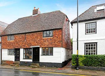 Thumbnail 2 bed semi-detached house for sale in Shipbourne Road, Tonbridge, Kent