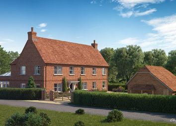 Thumbnail 4 bed detached house for sale in Lyndhurst Road, South Holmsley, Bransgore