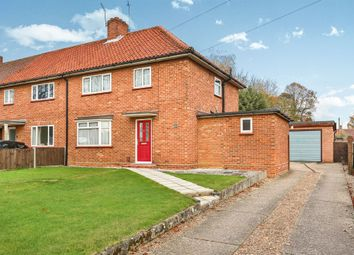 Thumbnail 3 bedroom end terrace house for sale in Woodland Road, Hellesdon, Norwich
