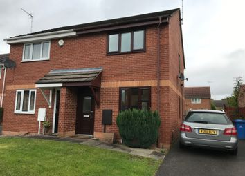 Thumbnail 2 bed semi-detached house to rent in Dalesgate Close, Littleover, Derby