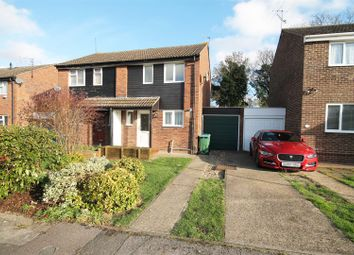 Thumbnail 2 bed semi-detached house to rent in Bronte Close, Aylesbury