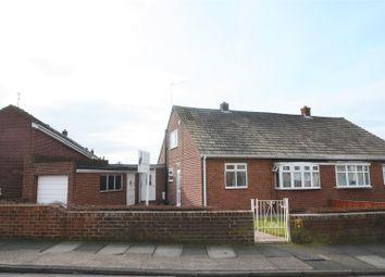 Thumbnail 2 bed semi-detached bungalow for sale in Carlton Crescent, East Herrington, Sunderland