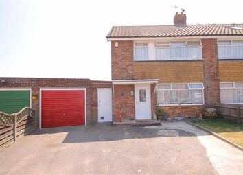 Thumbnail 3 bed semi-detached house for sale in Angela Close, Bexhill-On-Sea, East Sussex