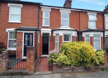 Thumbnail 2 bedroom terraced house for sale in Levington Road, Ipswich